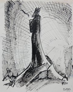 Sven Berlin 'The Dark Monarch' - currently on show in Tate St Ives