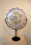'Six Spirals' - Murano Glass by Terry Frost, 1997