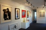 Part of the Artizan Editions show in Gallery 2