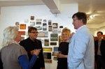 Graham Rich and Lesley Kerman face forward