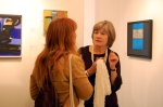 Artists Marie-Claire Hamon and Mary Mabbutt