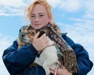 Andy Hughes, Belgrave St Ives, Girl With Dog, Camborne Show 2012