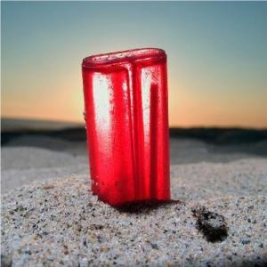 Andy Hughes, Begrave St Ives, Hermosa Beach, Los Angeles (Red Lighter)