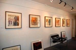 Six Jeremy Gardiner Monoprints