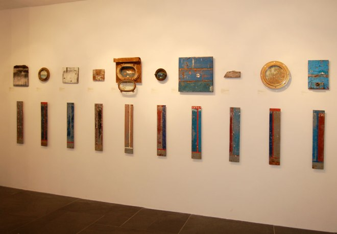 ...and continues around the coast and around the gallery...