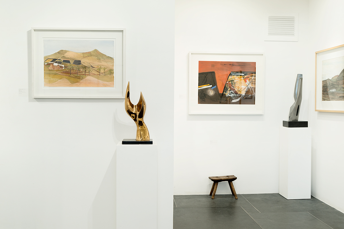A Distant Isle installation photograph by Andy Hughes. Provenance: The Wilhelmina Barns-Graham Trust