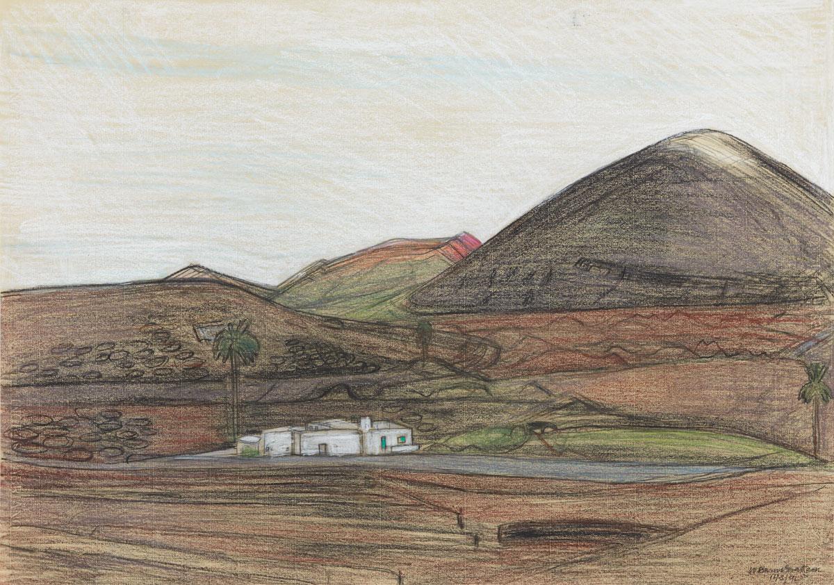 A Distant Isle, Belgrave St Ives 2019. Provenance: The Wilhelmina Barns-Graham Trust